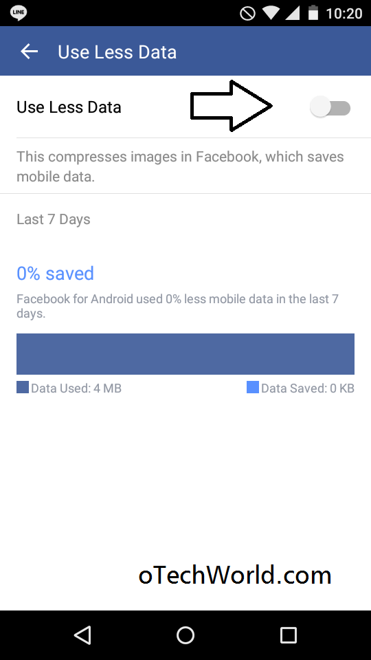 How To Save Data On Android Phone facebook