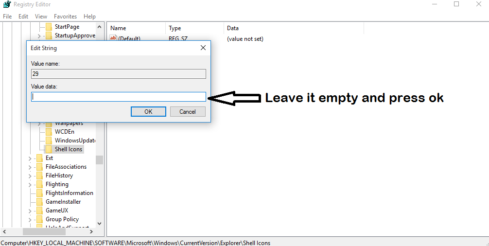 How To Remove Shortcut Arrows In Windows 10 Without Software