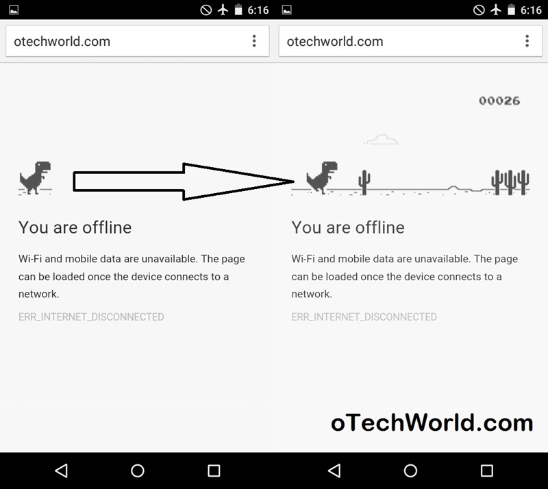 chrome game Hidden Features Of Android Lollipop