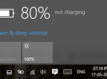 vaio plugged in not charging