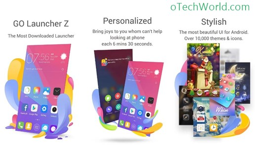 Go Launcher best launchers to customize android phone