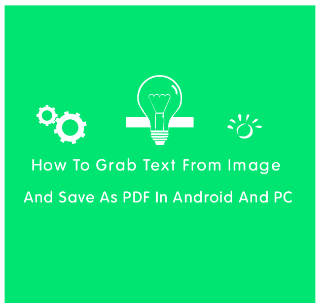 how to create a android image file