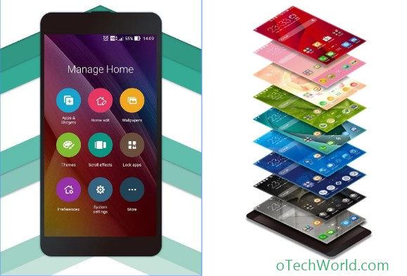 ZenUI launcher best android launcher to customize android phone