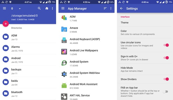 amaze file manager Best File Manager for Android