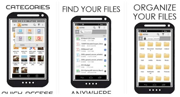 astro Best File Manager for Android