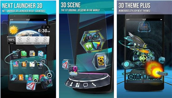 next launcher 3D lite