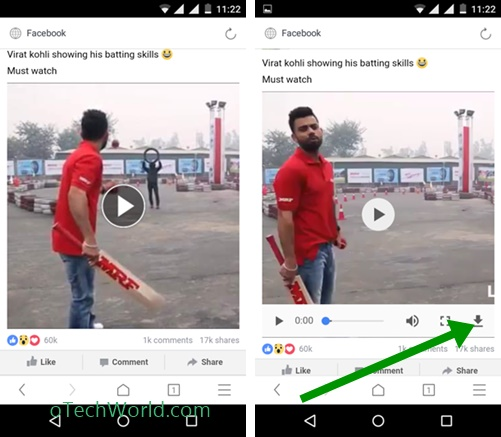HOW TO SAVE FACEBOOK VIDEOS TO PHONE GALLERY Using uc browser