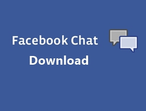 How To Download Facebook Chat Without Any Tool