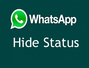 How To Hide Whatsapp Status