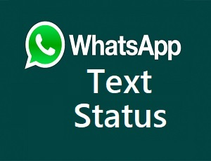 How To Set And Change Whatsapp Text Status