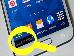 Safe Mode In Samsung