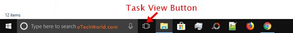 task view button for virtual desktops