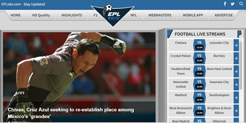 eplsite sports website to stream live sports