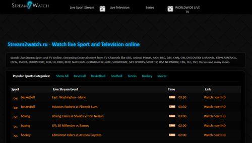sport live stream ru
