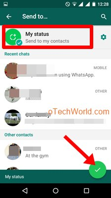 3 Ways To Add Long Video In WhatsApp Status (Without Root) - oTechWorld