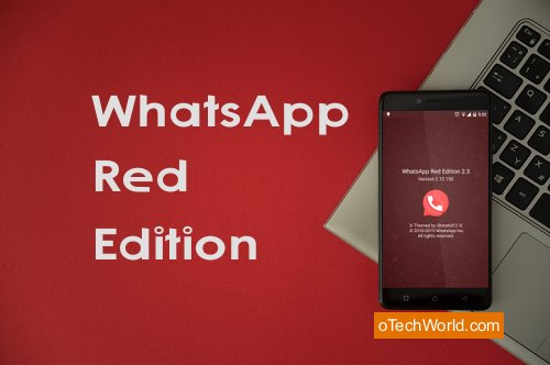 Download WhatsApp Red Edition