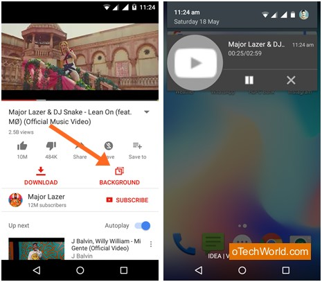 How To Play YouTube Videos With Screen Off (Android & iPhone