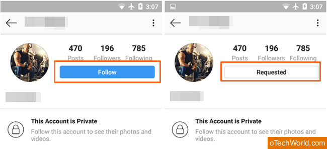 How To View Private Instagram Profiles - oTechWorld